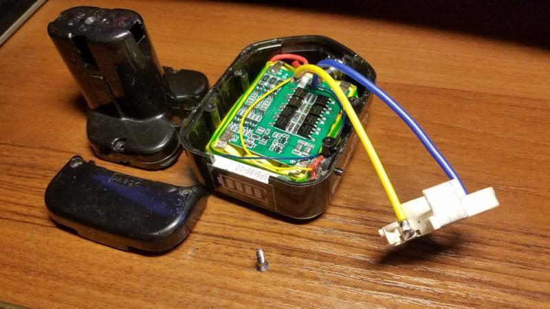 Как перевести шуруповерт на литиевые аккумуляторы