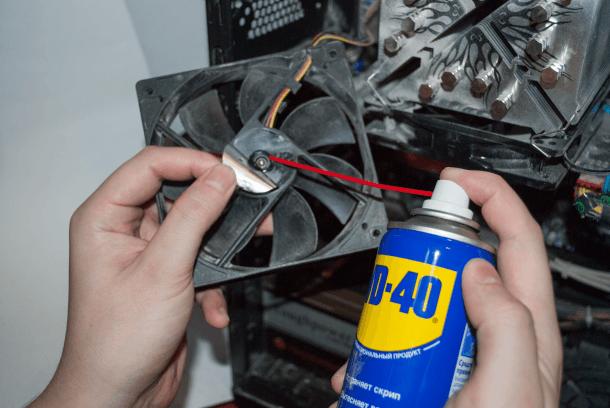 Как разобрать и смазать вентилятор блока питания