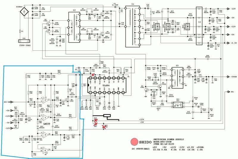 Как из старого блока питания компьютера сделать зарядное устройство