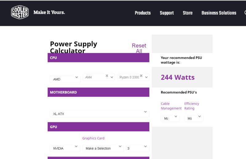 Как по параметрам подобрать блок питания для компьютера