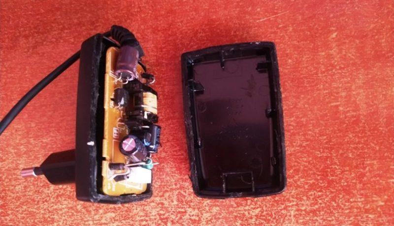 Как разобрать и починить зарядку для телефона